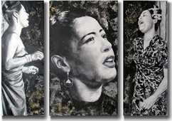 Billie Holiday by Doris Gaspartic